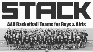 STACK AAU Basketball for players ages 7-17