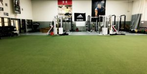 STACK Basketball's Turf Field and Performance Training