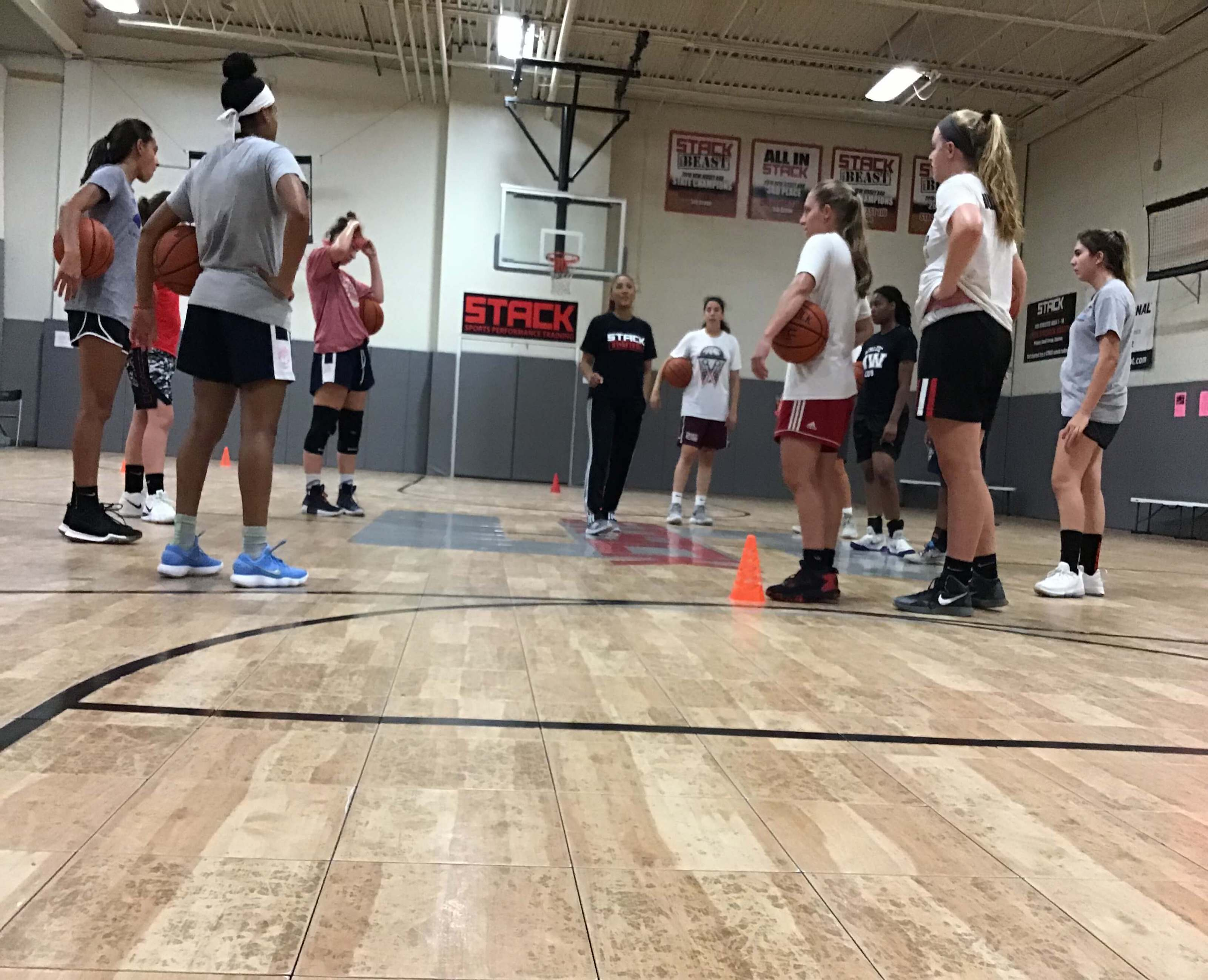 STACK Basketball Skills Training for Girls with Maria Harper