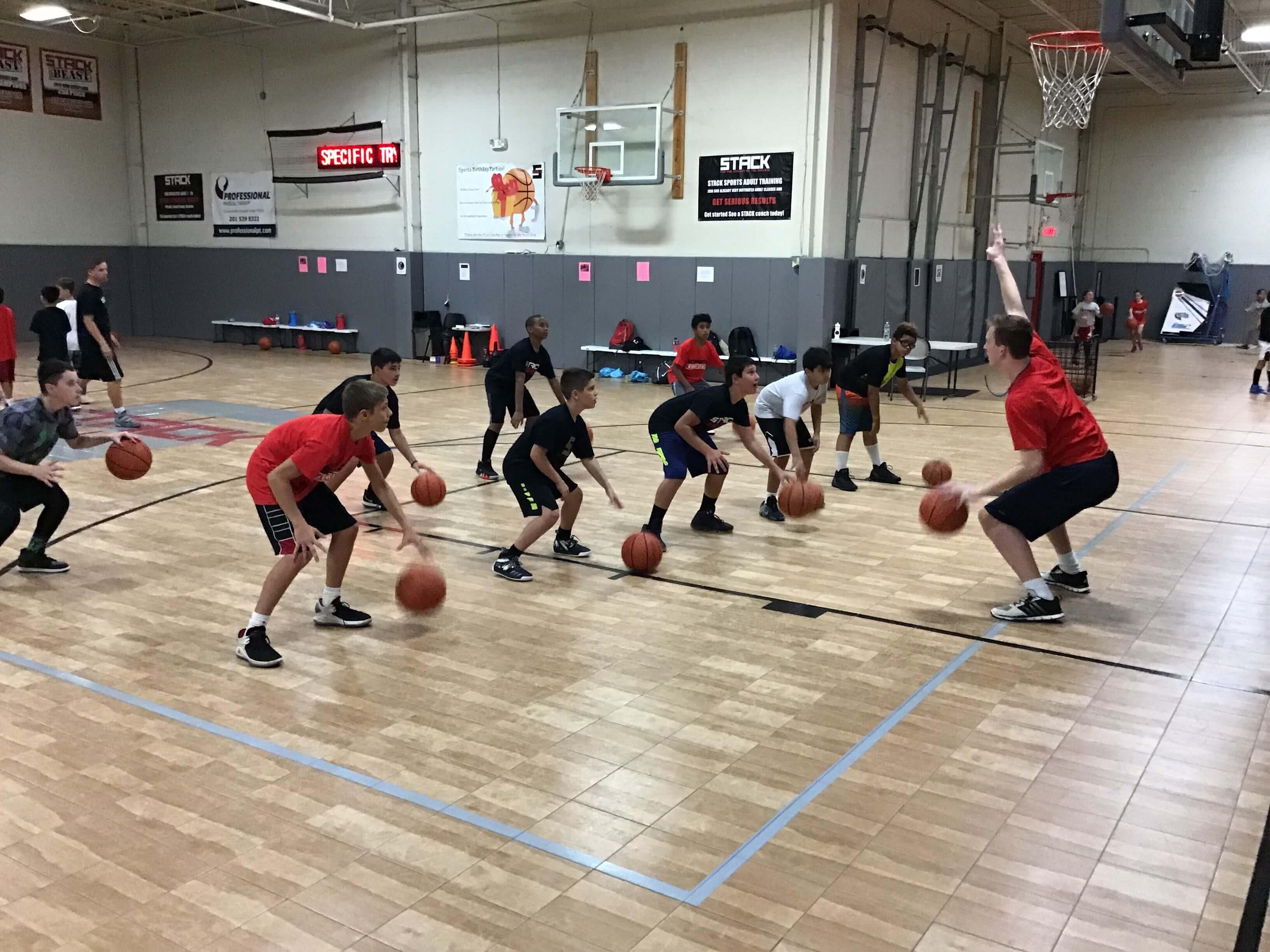Summer Basketball Camp at STACK Basketball in Mahwah, NJ