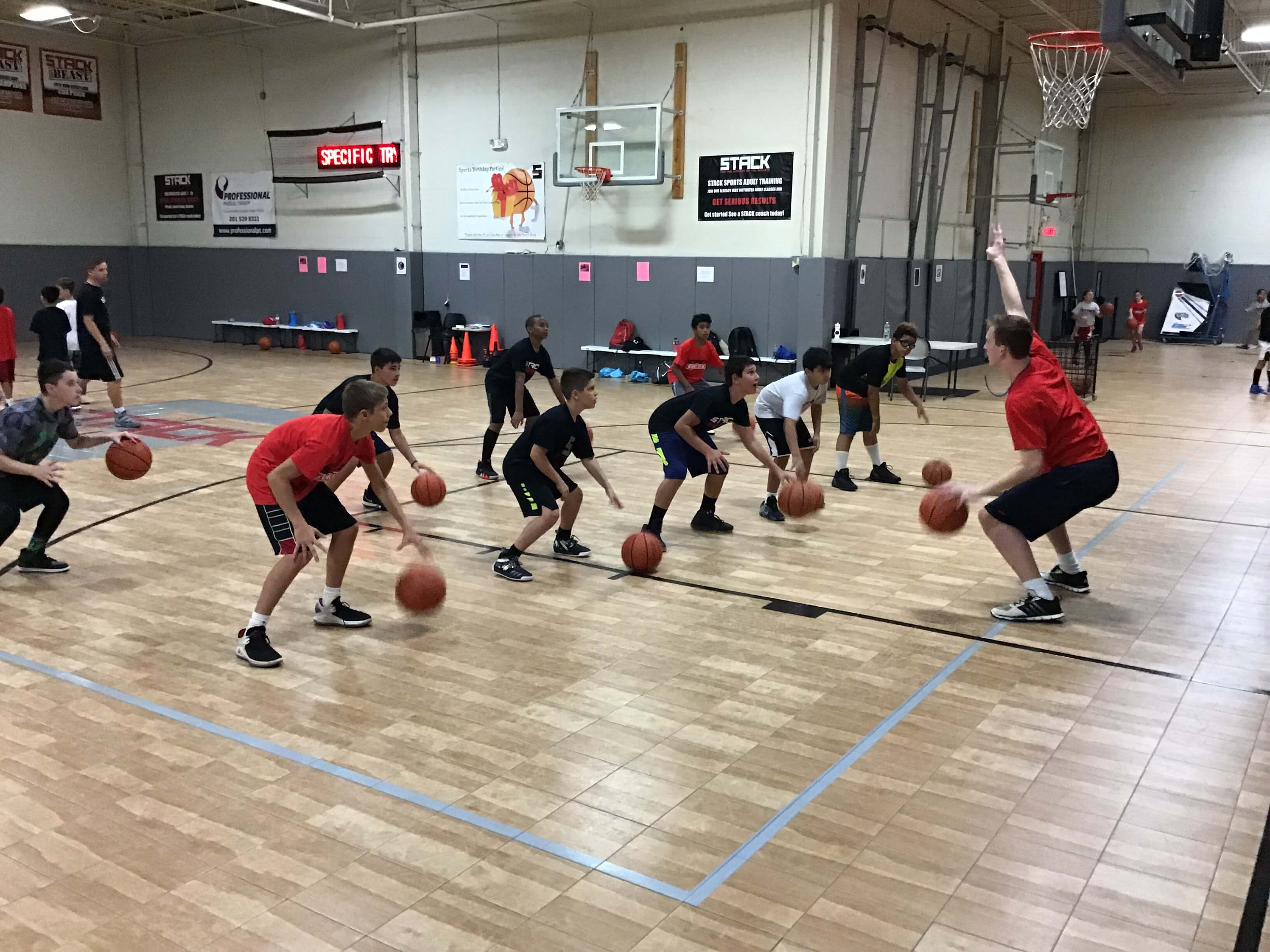 Summer Basketball Camp at STACK Basketball in Mahwah, NJ