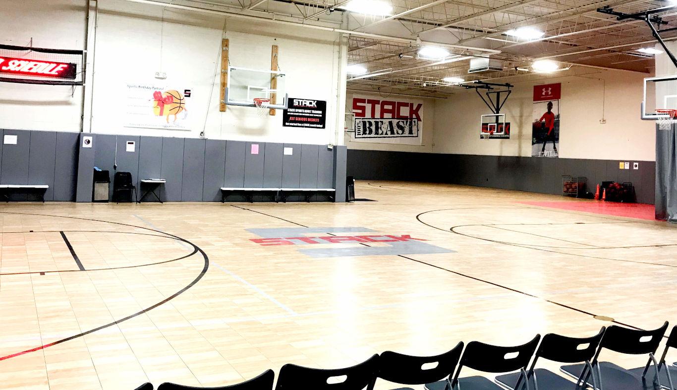STACK Basketball Facility in Mahwah, NJ